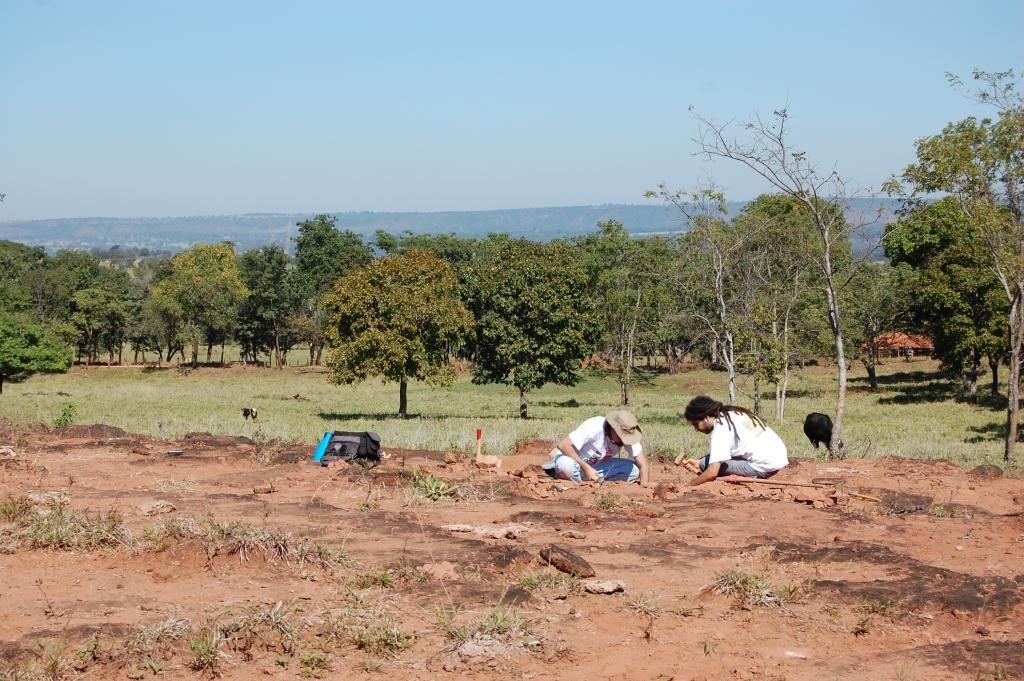Field work Pissarrachampsa