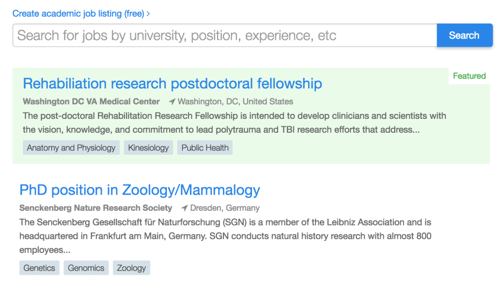 PeerJ Jobs