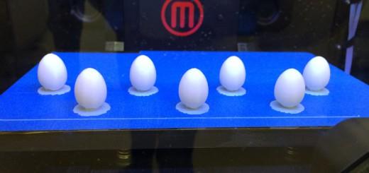 The 3D egg printing process  image credit Mark Hauber