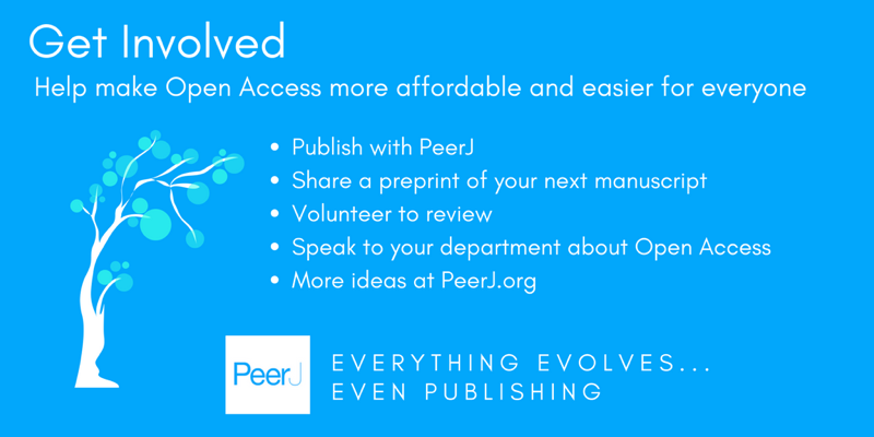 Publish for free in PeerJ Computer Science: Full fee waivers for new